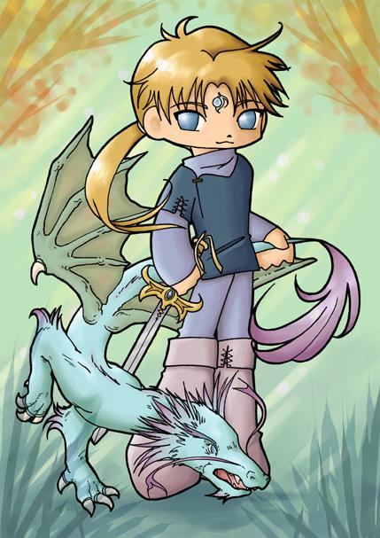Dragon Heir fanart