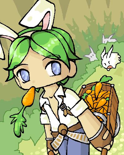 Puro likes carrots